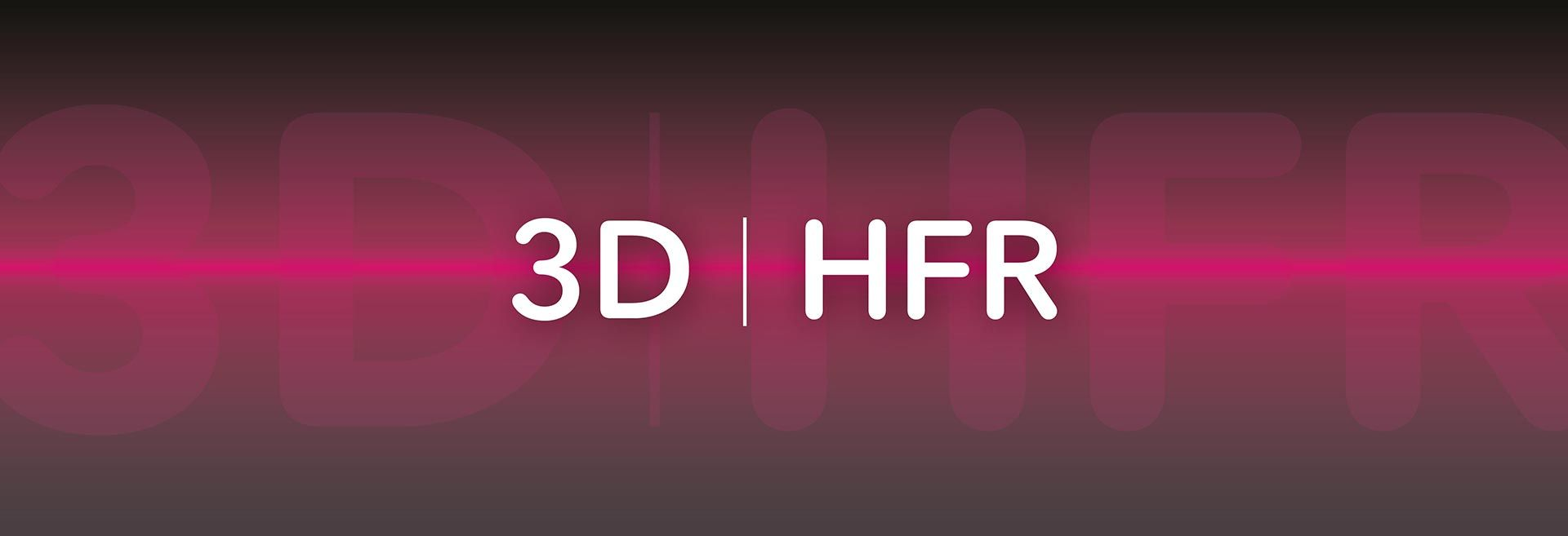 3d hfr, highframe rate